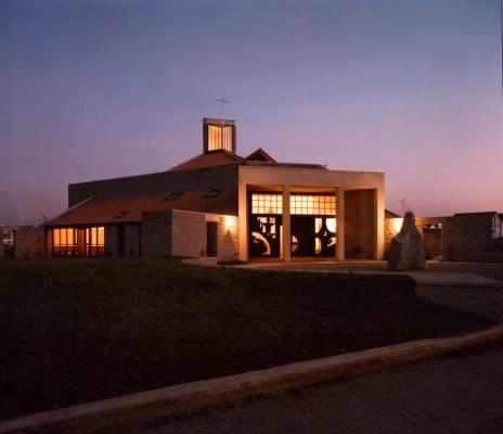 151 - Church Interior 1983 (Granite Steel Alloy Bronze Oak)1.jpg
