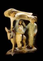 45 - Flight into Egypt 1956 (Polychrome Wood).jpg