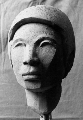 126 - Portrait Head of Shum Lee 1976 (Cast Stone).jpg