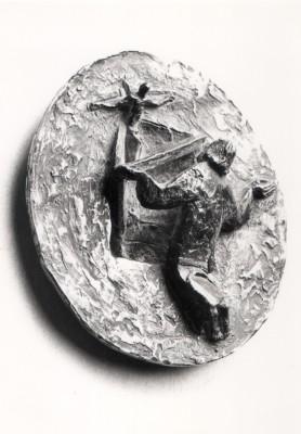 156 - St. Oliver Plunkett (relief) 1984 (Bronze).jpg