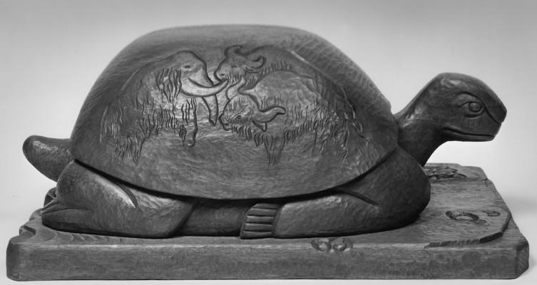 207 - Wilhelma the Tortoise 1997 (Mahogany).jpg