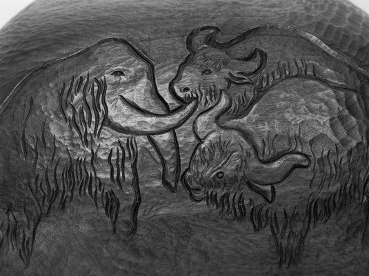 207 - Wilhelma the Tortoise 1997 (Mahogany).2.jpg